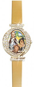 The Wizard Of Oz Swarovski Crystal Watch