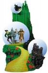 Wizard of Oz Emerald City Triple Snow Globe