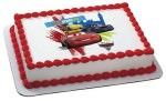Cars 2 edible cake topper