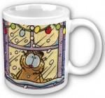 Garfield in Winter mug