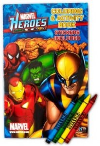 Marvel Heroes Coloring And Activity Books