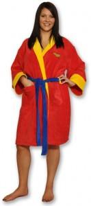 Wonder Woman Bath Robe
