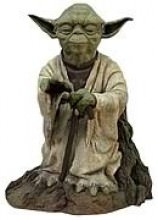 Star Wars Yoda Using Force Resin Statue