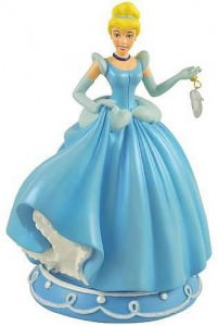 Cinderella with Glass Slipper Statue