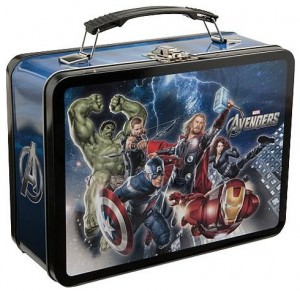 Marvel Avengers Tin Lunch Box