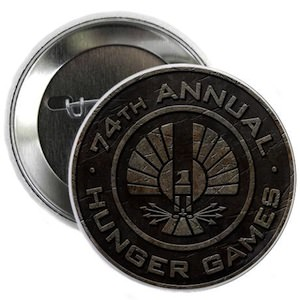 74th Hunger Games Button