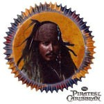 Pirates of the Caribbean Jack Sparrow Baking Cups