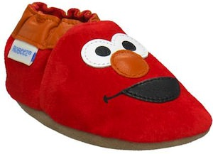 3D Elmo Soft Soles Shoes