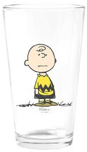 Charlie Brown Drinking Glass