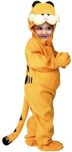 Garfield kids and toddler costume