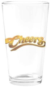 Cheers Logo pint glass