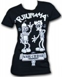 Futurama Sound Cartoon T-Shirt