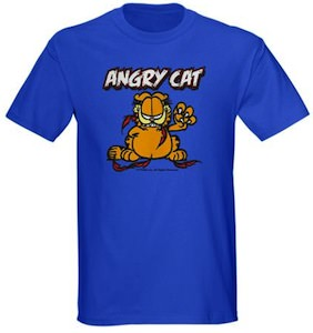 Garfield Angry Cat T-Shirt