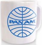 Pan Am logo mug