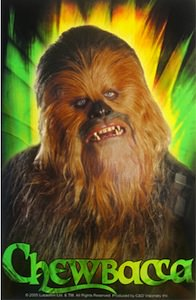 Star Wars Chewbacca Sticker