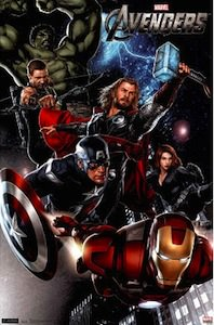 The Avengers Group Poster