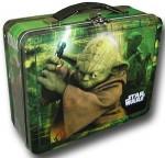 Star Wars Yoda metal Lunch Box