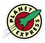 Futurama Planet Express Sticker