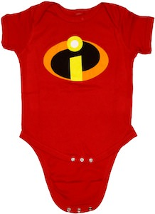 Incredibles Logo baby Bodysuit