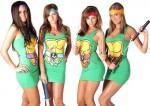 Teenage Mutant Ninja Turtles Characters Dresses
