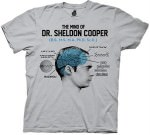 The Big Bang Theory The Mind Of Dr. Sheldon Cooper T-Shirt