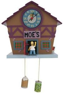 Moe's Tavern Cuckoo Clock