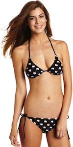 Black Hello Kitty Bikini