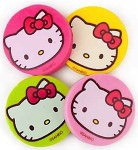 Hello Kitty face eraser