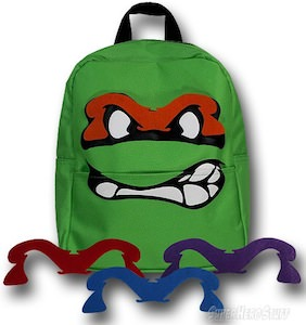 TMNT Big Face Backpack
