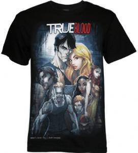 True Blood Comic T-Shirt