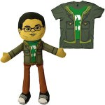 The Big Bang Theory Leonard Hofstadter Plush With Matching T-Shirt
