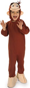 Curious George Kids Costume