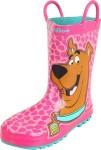 Scooby-Doo pink Rain Boots