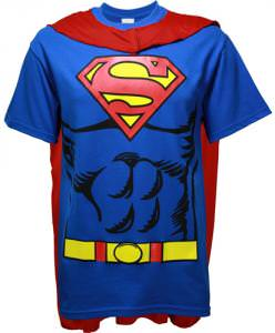 Superman T-Shirt With Cape