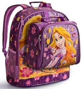 Rapunzel Backpack And Lunch Tote