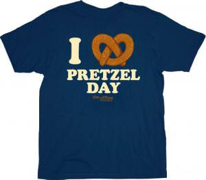 The Office I Love Pretzel Day T-Shirt