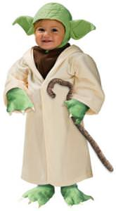 Yoda Toddlers Costume