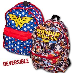 Wonder Woman Reversible Backpack