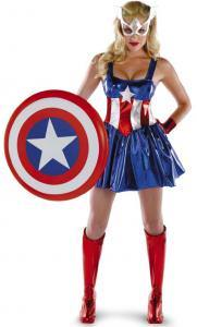 Captain America Sexy Adult Costume