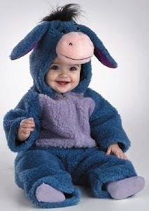 Eeyore Baby Costume