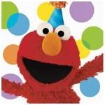 Sesame Street Elmo Napkins.