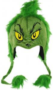 Dr. Seuss Grinch Furry Lapland Hat