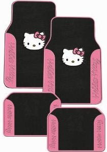 Hello Kitty Car Floor Mats