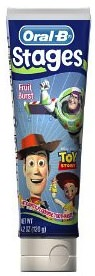 Oral-B Toy Story Toothpaste