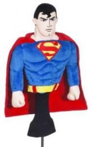 Superman Golf Club Head Cover