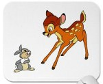 Disney Bambi And Thumper Mousepad