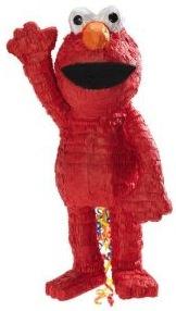 Sesame Street Elmo Pull String Pinata