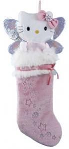 Hello Kitty Plush Head Stocking