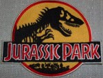 Jurassic Park Clothing Patch