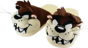 Looney Tunes Taz Plush Slippers